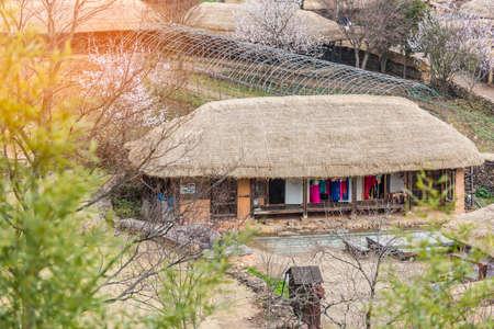 Naganeupseong Folk village,South Korea