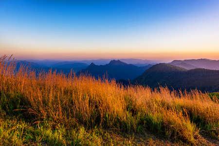 Phu Chi fa National Park. Chiang Rai Province, Thailand