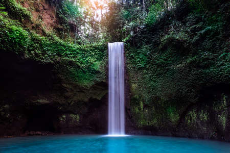 Just one of the many hidden gems this tropical island has to offer,Tibumana waterfall, Bali Indonesia