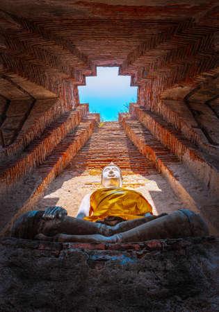 Wat Nakhon Luang Tample,Prasat Nakhon Luang in Ayutthaya,Thailand