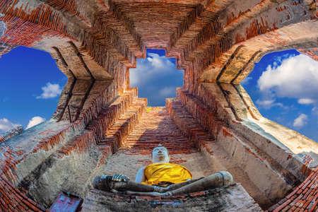 Wat Nakhon Luang Tample, Prasat Nakhon Luang à Ayutthaya, Thaïlande Banque d'images