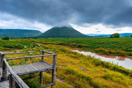 Jom thong mountain viewpoint or Fuji Thailand on Nakhon Ratchasima province, Thailand