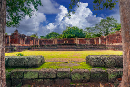 Phanom Rung Historical Park is Castle Rock old architecture at Buriram Province ,famous attractions landmark , Thailand Editöryel