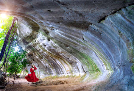 Pha Khong Cave, a tourist attraction in Phetchabun Province, Thailand Imagens