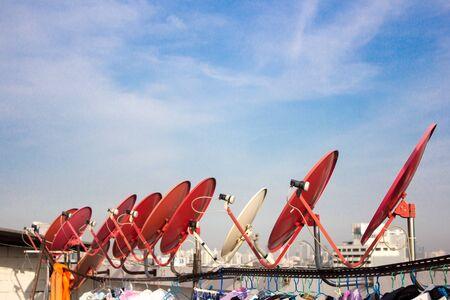 satelite: Satellite of People in Donwtown