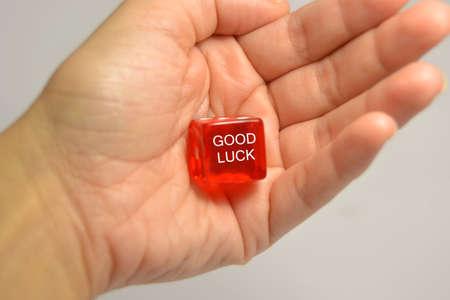 buena suerte: buena suerte Foto de archivo