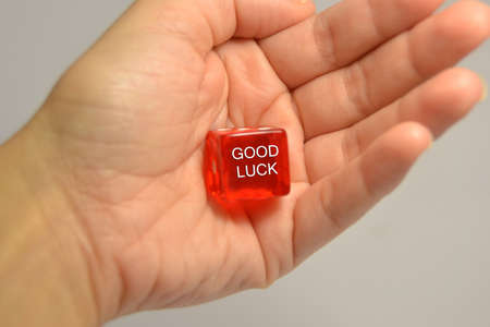 Good luck with red dices
