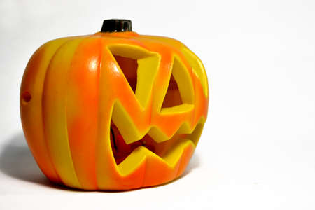 clave: Halloween pumpkin Stock Photo