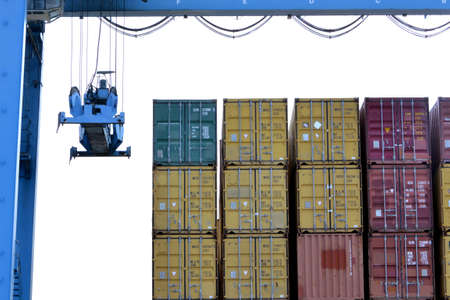 sours: Cranes and containers on the dock