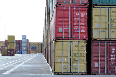 sours:  containers on the dock Editorial