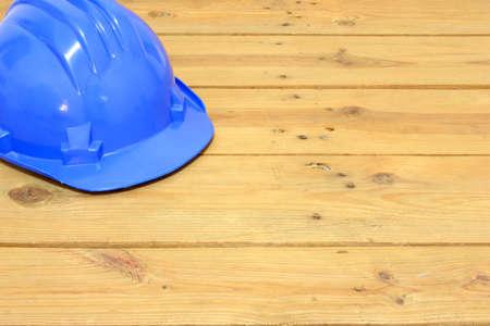 confound: Helmet on wood