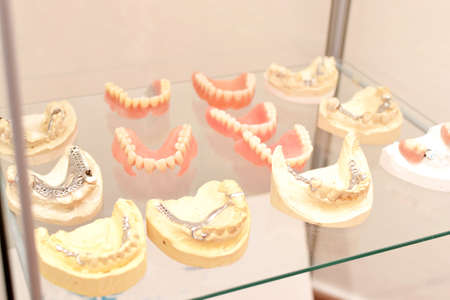 surrogate: Dentures Stock Photo