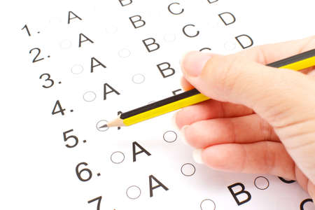 Examination test list photo