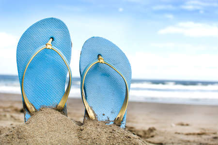 swim shoes: Summer shoes on sand