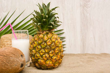 tropical fruits: Tropical fruits Stock Photo