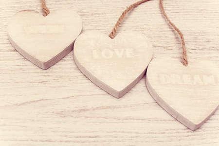 wish: love, wish, dream vintage Stock Photo
