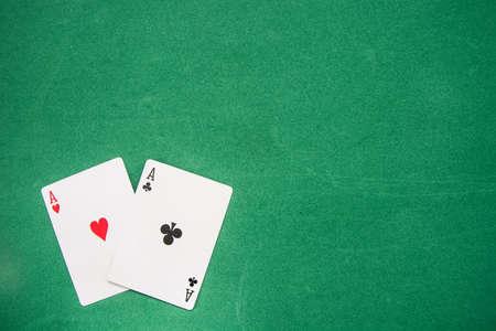 casino table: poker background