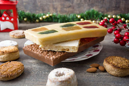 nougat: Christmas nougat and other sweets