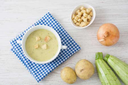 calabacin: sopa del calabacín