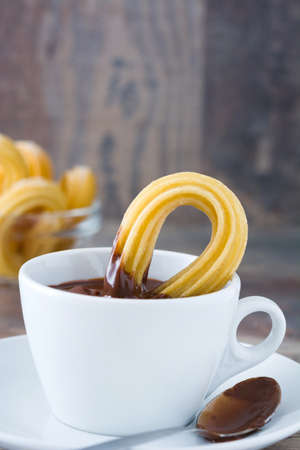 churros: Churros With Hot Chocolate
