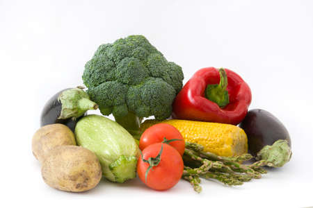Various vegetables. isolated photo
