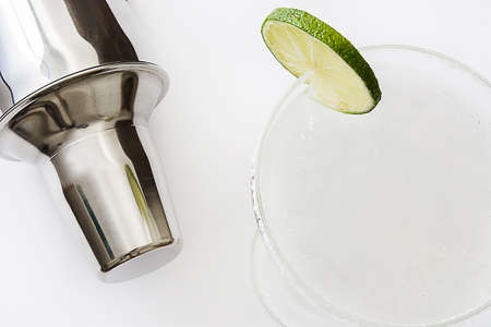cocktail shaker: Margarita cocktail shaker and Stock Photo
