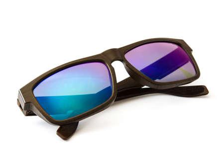 Polarized sunglasses isolated on white background Stock Photo