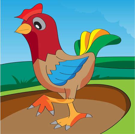chicken Stock Vector - 13616714