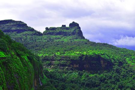 bhimashankar trek view via shidi ghat
