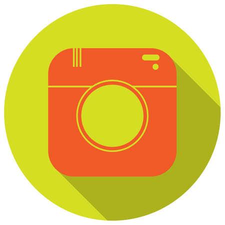 flat: camera flat icon