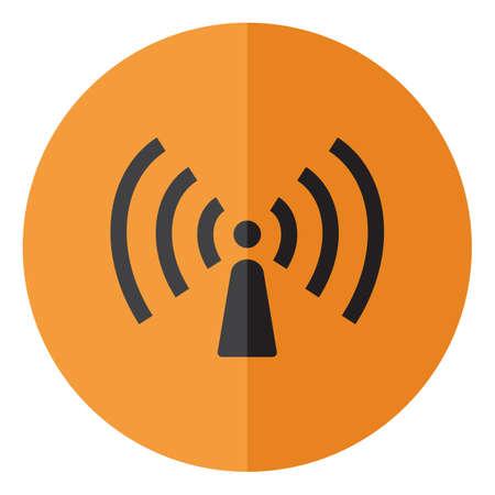 Wriless sign icon,vector illustration