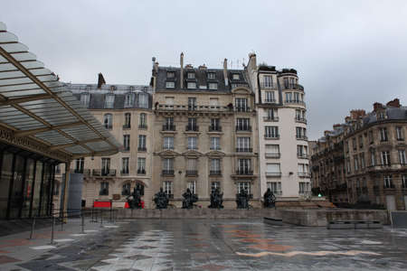 France, paris, osei art museum, landmarks