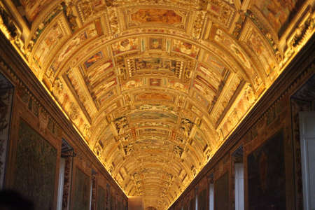 sumptuousness: Italy, Rome, Sistine Chapel Editorial