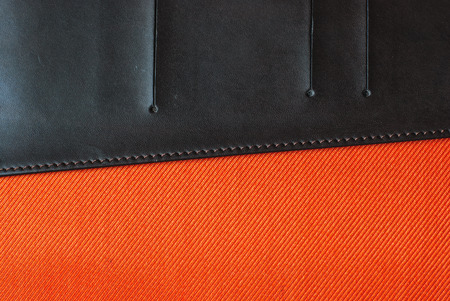 lose up: lose up image of orange fabric texture as background