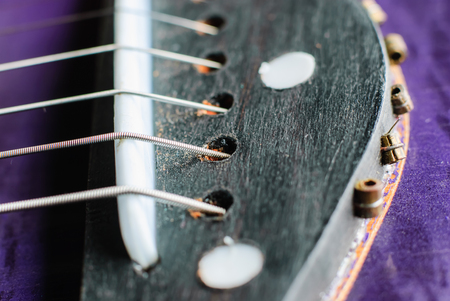 sonata: Side of old acoustic guitar, Obviously shallow
