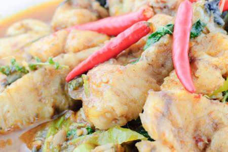 bagre: Nombre de la comida tailandesa picante bagre frito Stir