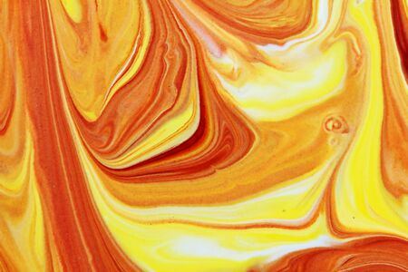beautiful abstract mix red and yellow in close up for abstract and texture background