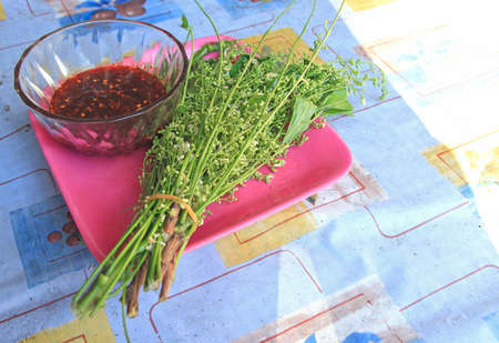 Siamese neem tree Vegetables, herbs for health at thailand
