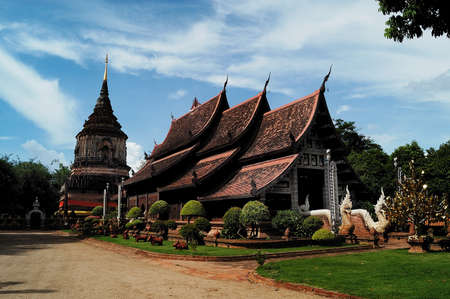 Thailand Wooden Temple