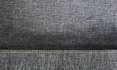 fabric textures: Gray fabric textures and patterns the overlap , Can use for product display. Stock Photo