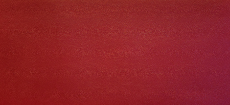 Surface Of Red Leatherette Texture Created By Humans For Decoration