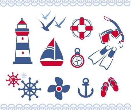 nautische iconen
