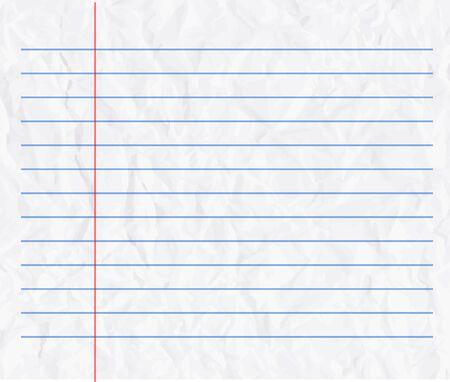 lineas rectas: El papel arrugado