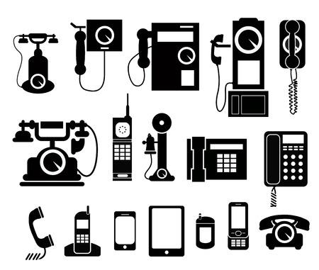 telefoon set icon