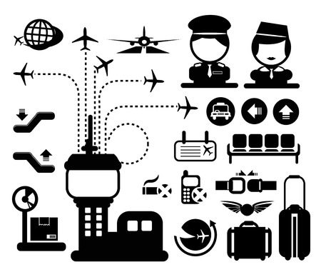 266 Air Traffic Control Tower Stock Vector Illustration And ...