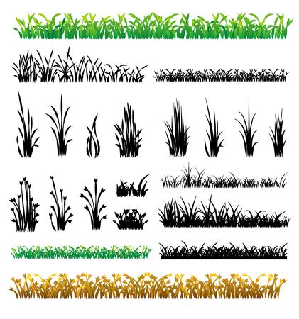 grass vector Stock fotó - 30900727
