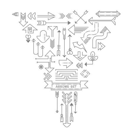 Arrow overzicht pictogrammen instellen