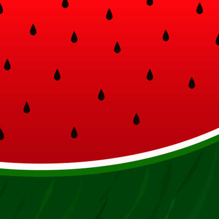 watermelon and seeds background