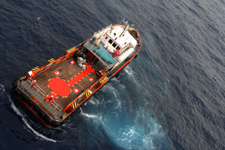 driller: Crew and Supply Vessel offshore or Supply Boat