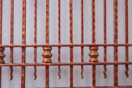 steel door: red steel Door